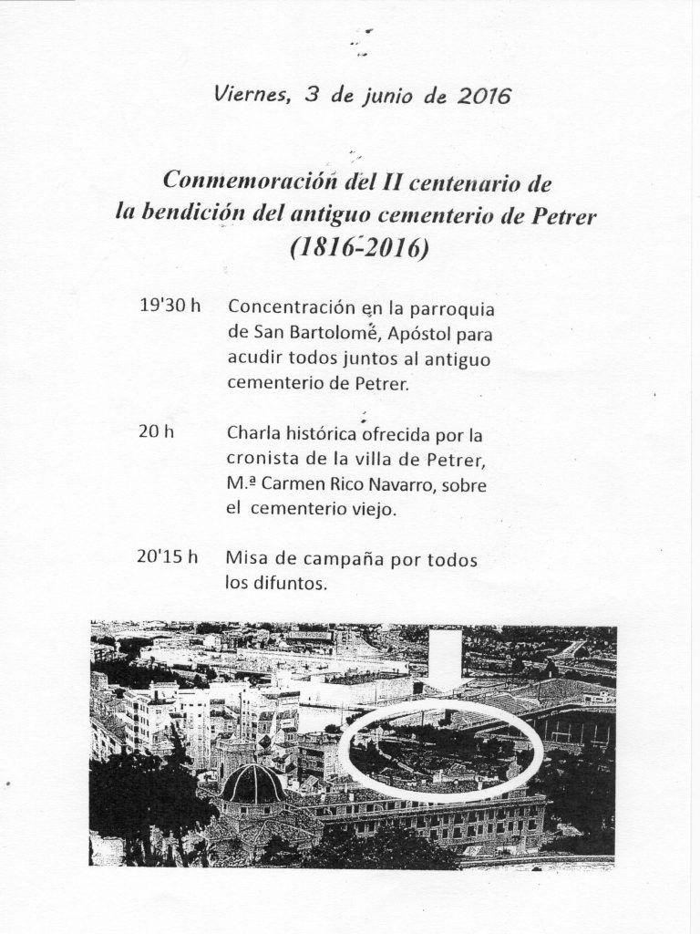 ElCristo - Agenda - II Centenario Cementerio - Misa - (2016-06-03)