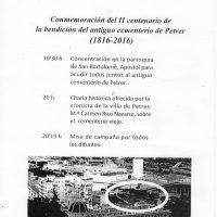ElCristo – Historia – Documentos – (2016) – II Centenario Cementerio – Misa – (2016-06-03)