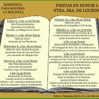 ElCristo – Misas y Actos – 2017-02-06 – Virgen de Lourdes, La Molineta