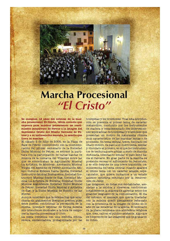 ElCristo - Marcha Procesional - Revista Año 2017