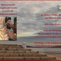 ElCristo – Historia – Documentos – (2017) – Restauracion Imagen – Invitación Recibimiento