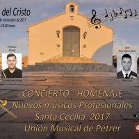 ElCristo – Historia – Documentos – (2017) – Concierto Homenaje – Cartel