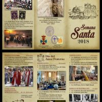 ElCristo – Historia – Documentos – (2018) – Triptico Semana Santa