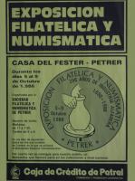 Año 1986 – Exposición Filatélica
