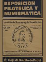 Año 1987 – Exposición Filatélica