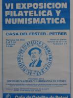 Año 1988 – VI Exposición Filatélica
