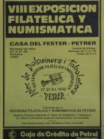 Año 1990 – VIII Exposición Filatélica