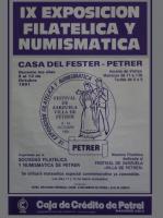 Año 1991 – IX Exposición Filatélica