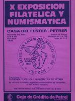 Año 1992 – X Exposición Filatélica