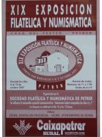 Año 2001 – XIX Exposición Filatélica