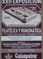 Año 2004 – XXII Exposición Filatélica