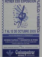 Año 2005 – XXIII Exposición Filatélica