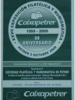 Año 2009 – XXVII Exposición Filatélica