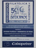 Año 2013 – XXXI Exposición Filatélica