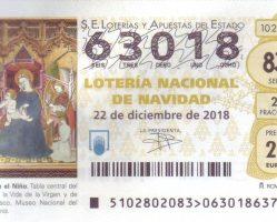 ElCristo – Loteria – Navidad 2018 – Decimo