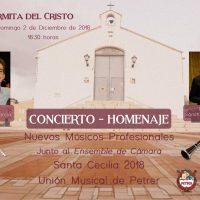 ElCristo – Actos – Concierto Homenaje Union Musical – (2018-12-02) – Cartel
