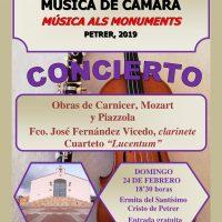ElCristo – Actos – I Festival Musica Camara – (2019-02-24) – Cartel 2