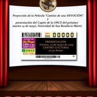 ElCristo – Cupon ONCE – 75 Aniversario – Cartel Gala