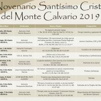 ElCristo – Agenda – Fiestas – (2019) – Novenario
