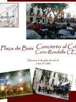 ElCristo – Historia – Documentos – (2019-07-05) – Concierto