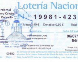 ElCristo – Loteria – Vacaciones 2019 – Papeleta (01)