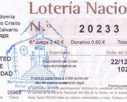 ElCristo – Loteria – Navidad 2019 – Papeleta (01)