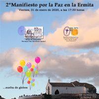 ElCristo – Actos – II Manifiesto por la Paz – (2020-01-31) – Cartel–