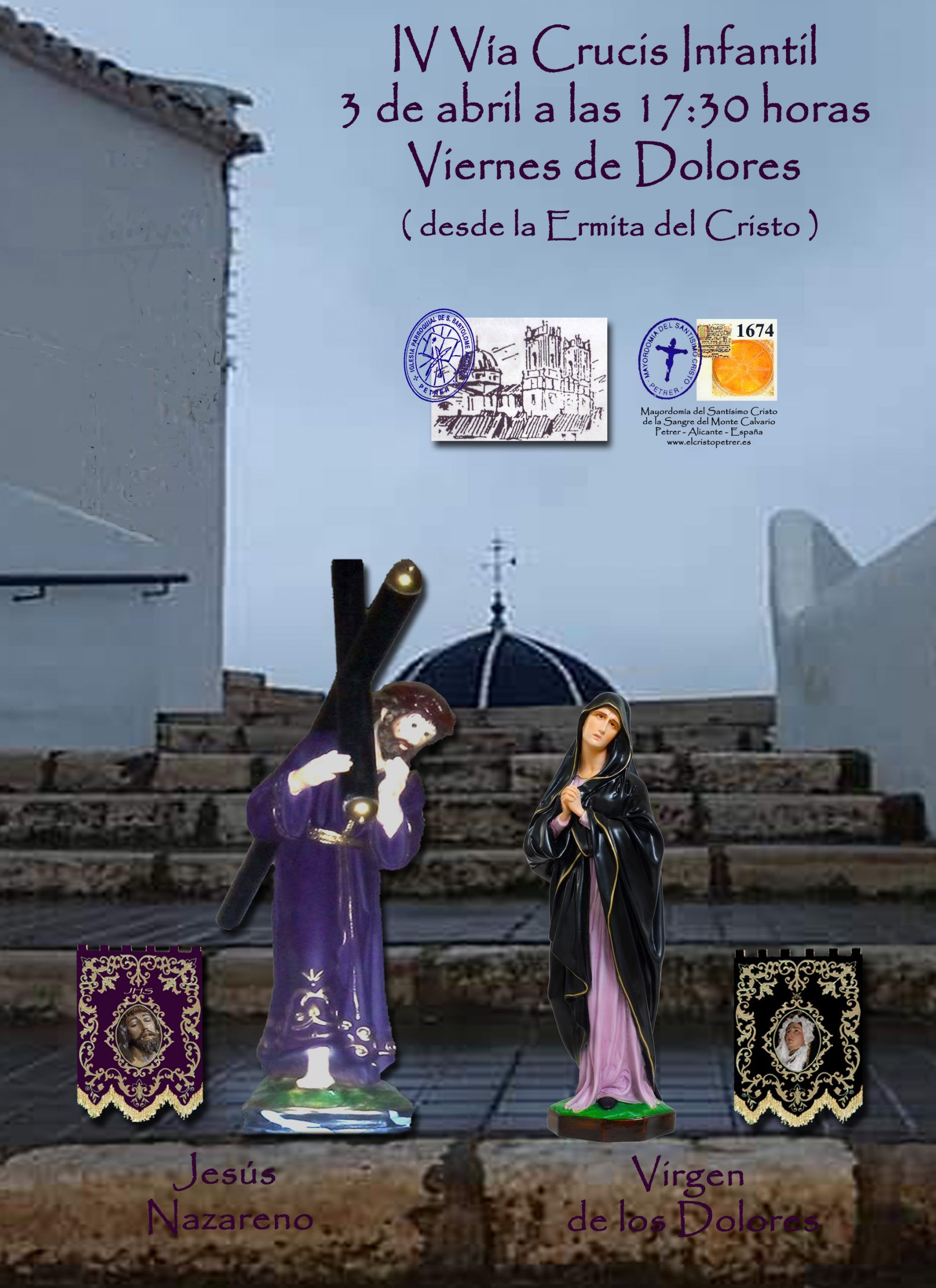 ElCristo – Actos – 2019-04-03 – IV Via Crucis Infantil
